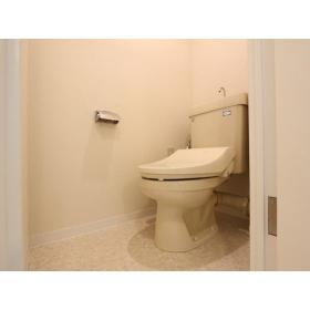 ガーデンクリア柳橋 203号室のトイレ