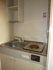 サンプラザ南林間 203号室のキッチン