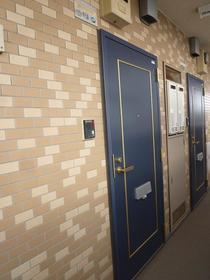 サンプラザ南林間 203号室の玄関