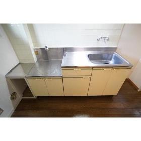 メゾン南林間6 206号室のキッチン