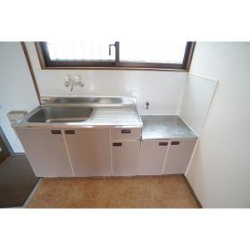 Y・SコーポⅡ 202号室のキッチン
