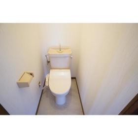 Y・SコーポⅡ 202号室のトイレ