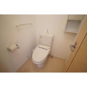 アストリット 201号室のトイレ
