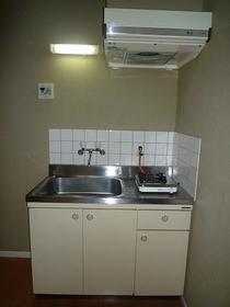 ロッシェル中央林間I 102号室のキッチン