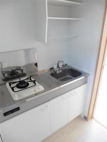 セゾン東林間 202号室のキッチン