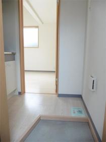 セゾン東林間 202号室の玄関