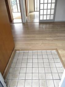 セゾンアキ 0202号室の玄関