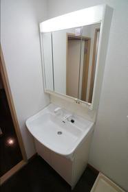 アビンズ相模大野 104号室の洗面所