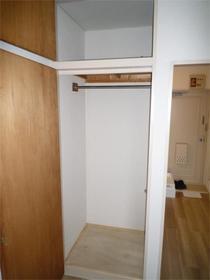 フラットシティ 3-B号室の収納