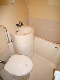 フラットシティ 3-B号室の風呂