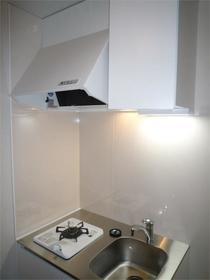 フラットシティ G3-B号室のキッチン