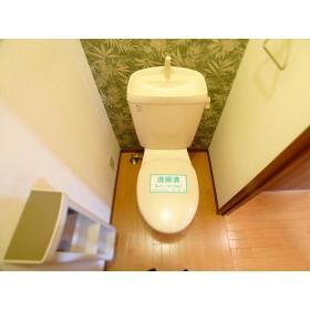 サンヒルズ 203号室のトイレ