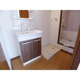 サンヒルズ 203号室の洗面所