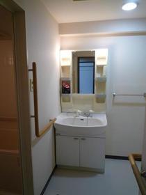 ライブ・トピア寺町 501号室の洗面所