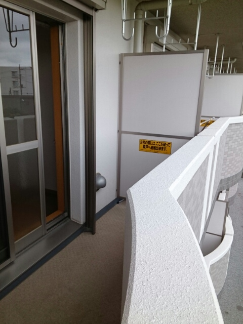 アタラクシア 03190号室のバルコニー