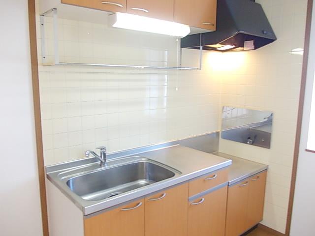 グラシュⅠ 02030号室のキッチン