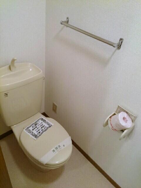 メゾントゥボヌ-ル 02010号室のトイレ