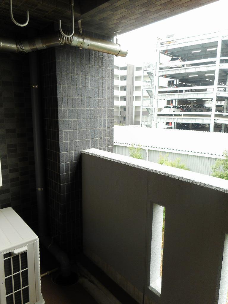 クレバーワンTHC 03010号室のバルコニー