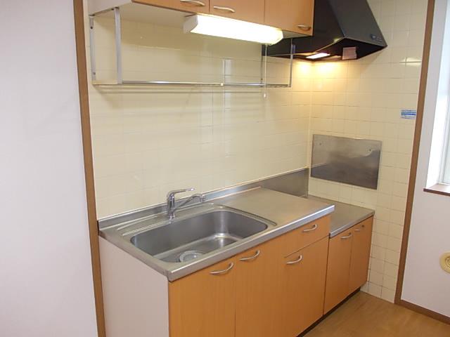 グラシュⅡ 02030号室のキッチン