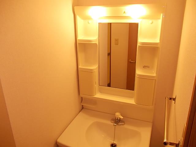 グラシュⅡ 02030号室の洗面所