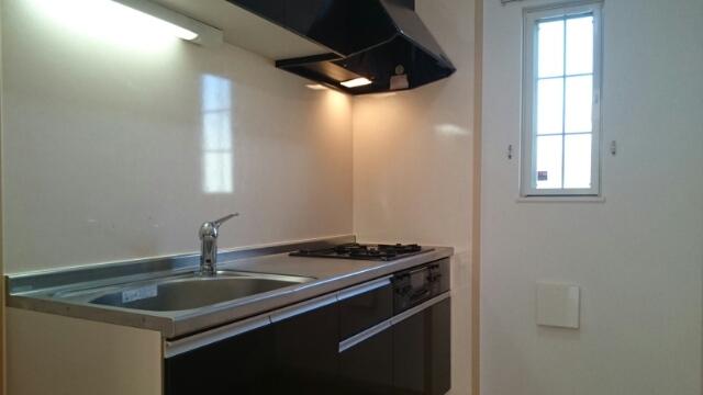 ルミナスMⅢ B棟のキッチン