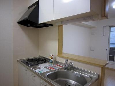 ブル アルベロ 02020号室のキッチン