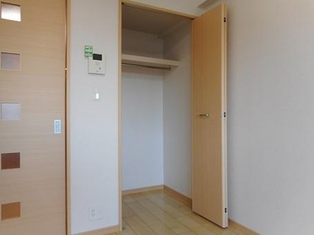 レーヴ ダンジュ Ⅰ 03030号室の収納