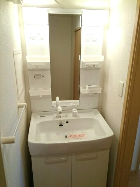 エアリーテラス 02030号室の洗面所