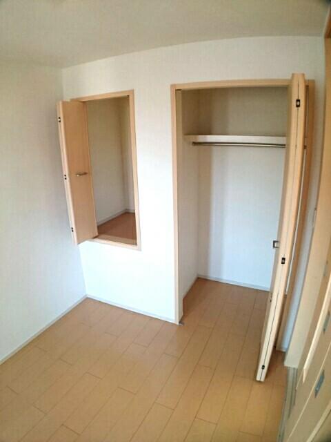 アムールA 02030号室の収納