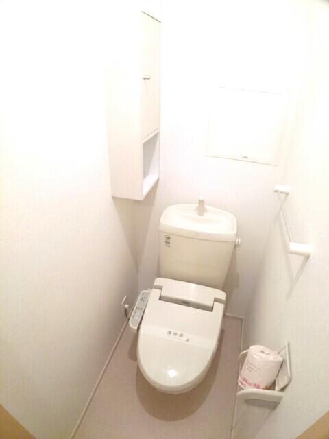 アムールA 02030号室のトイレ