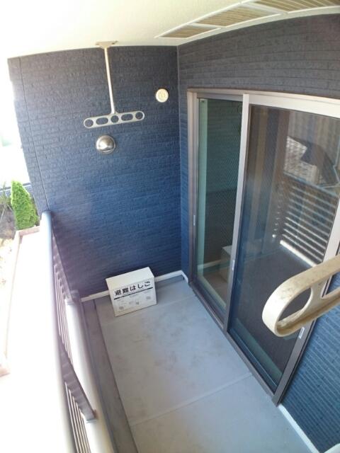 アムールA 02030号室のバルコニー