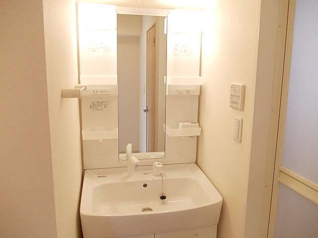 パルデフォンド 01020号室の洗面所