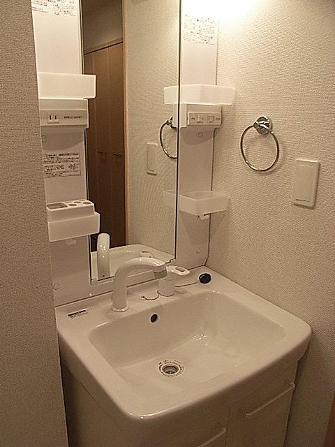 ローレルⅡ 01030号室の洗面所