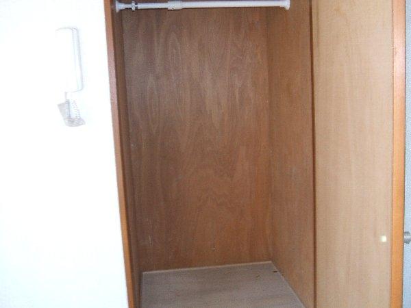 金杉アパート C号室の収納