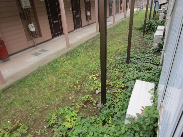 成江ビレッジ 105号室のバルコニー