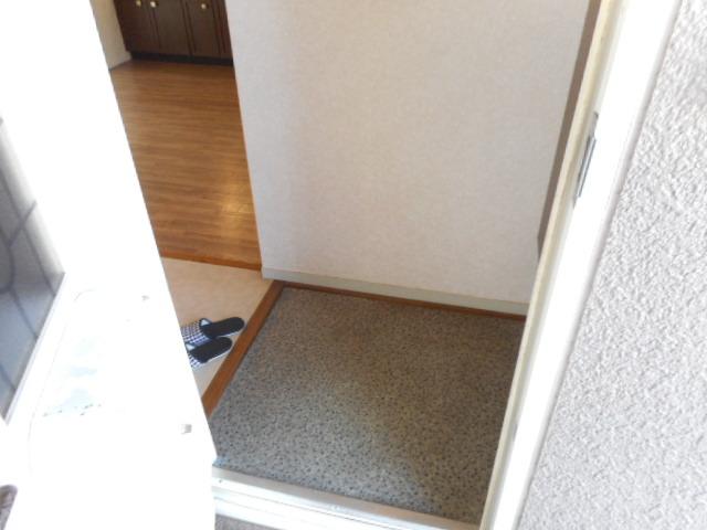 エミネンス夏見台 202号室の玄関