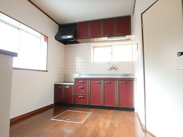藤原戸建のキッチン