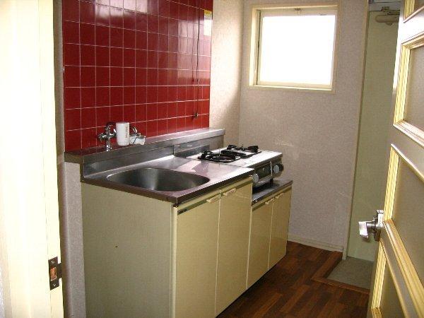 プラザタキ 203号室のキッチン