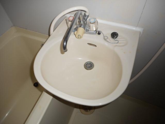 青木マンション 401号室の洗面所