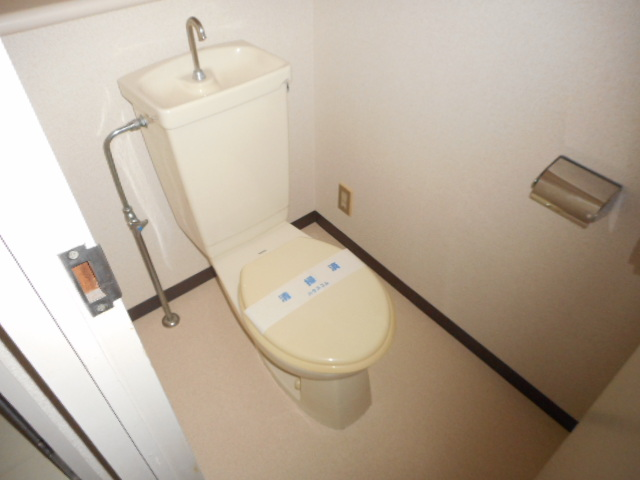 青木マンション 401号室のトイレ