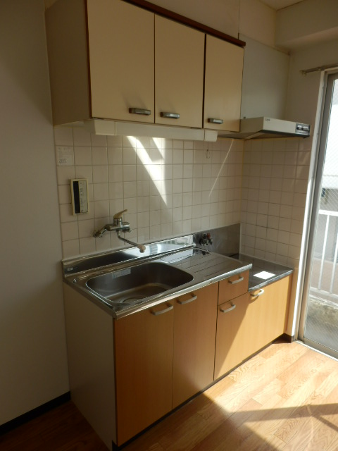 青木マンション 403号室のキッチン