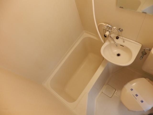 青木マンション 403号室の風呂