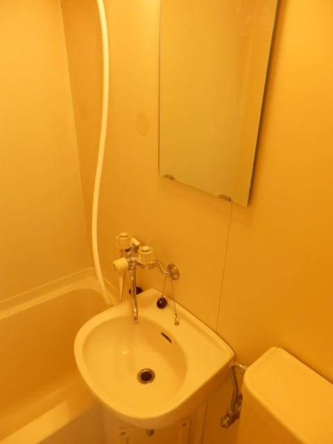 青木マンション 403号室の洗面所
