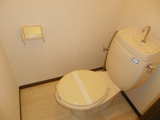 グランデュール芝山 102号室のトイレ