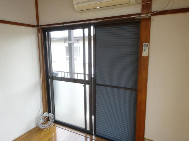 佐久間ハイツA棟 203号室のセキュリティ