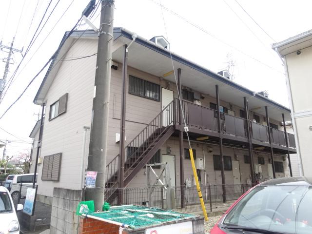 佐久間ハイツA棟 203号室の外観2
