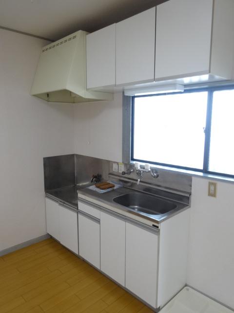 佐久間ハイツA棟 203号室のキッチン