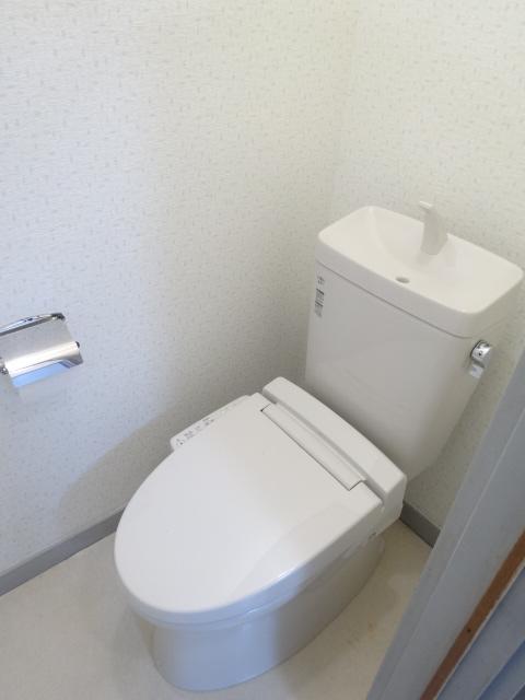 佐久間ハイツA棟 203号室のトイレ