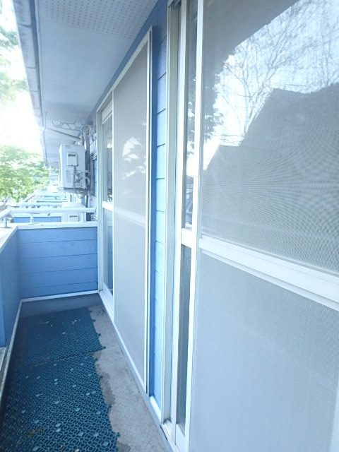 メゾンハピネス 102号室のバルコニー