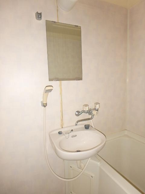 メゾンハピネス 102号室の洗面所
